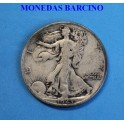 1943 - ESTADOS UNIDOS - USA - SAN FRANCISCO  - 1/2 DOLLAR- LIBERTY