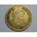 1787 - CARLOS III -  1 ESCUDO - MEXICO - ENSAYADOR- CHARLES III-GOLD-ORO