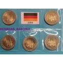 2006- ALEMANIA - 2 EUROS - 5 CECAS - SCHELESWIG
