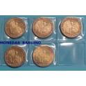 2012- ALEMANIA - 5 MONEDAS DE 2 EUROS - NEUSCHWANSTEIN - 5 CECAS