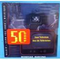 2003 - BELGICA - EUROS - BLISTER- TELEVISION -COLECCION