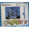 2015 - BELGICA - EUROS - BLISTER- COLECCION - BANDERA