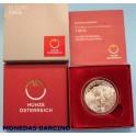 2014 AUSTRIA -10  EUROS - TIROL-- PLATA - REPUBLIK OSTERREICH