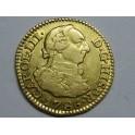 1786 -CARLOS III- 1/2 ESCUDO  MADRID -CHARLES III-GOLD-ORO