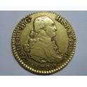 1792 - CARLOS IV-  1 ESCUDOS - MADRID - ORO- CHARLES IV-GOLD
