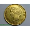 1863 - ISABEL II - 4 PESOS - MANILA - FILIPINAS - ORO