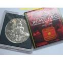 1998 - CANADA -  DOLLAR -  ANIVERSARIO  RCMP GRC 187- PLATA