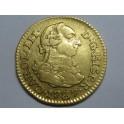 1787 -CARLOS III- 1/2 ESCUDOS -MADRID- ESPAÑA  -GOLD-ORO