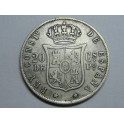 1882 - ALFONSO XII -  20 CENTAVOS PESO -  MANILA - FILIPINAS - ESPAÑA