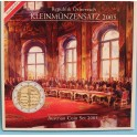 2005 AUSTRIA - EUROS - COLECCION BLISTER-OSTERREICH