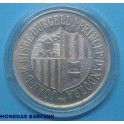 1986 -  ANDORRA - 10 DINERS - FUTBOL MEXICO 86