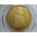 1791 8 escudos Potosi Bolivia Laureate Laureado