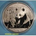 2012 - CHINA - ONZA - 10 YUAN - OSO PANDA -PLATA