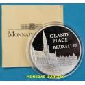 1996 - FRANCIA - 100 FRANCS - 15 ECUS - GRAN PALACIO BRUXELLES - PLATA - FRANCE -