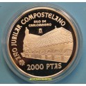 1999 - ESPAÑA - 2000 PESETAS - 8 REALES - SILO CARLOMAGNO-PLATA-monedasbarcino.com