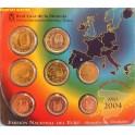 2004 - ESPAÑA - EUROS - BLISTER OFICIAL-monedasbarcino.com