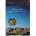 2014 - ANDORRA - 2 EURO - CONSELL - BLISTER - COINCARD-monedasbarcino.com