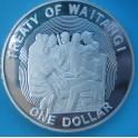 1990 NUEVA ZELANDA - DOLLAR - TRATADO WAITANGI