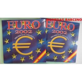 2002 - ESPAÑA - 1 EUROS - PRESIDENCIA-  ZAFIRO - COLECCION EUROS