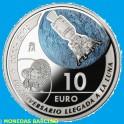 2019  - ESPAÑA - 10  EUROS  -PLATA - LLEGADA DEL HOMBRE A LA LUNA