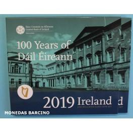 2019 - IRLANDA -  EUROS - EIRE - DAIL EIREANN -BLISTER