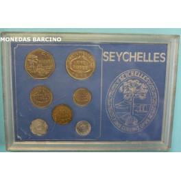 1972- SEYCHELLES - RUPEE - 7 MONEDAS- ISLA MAHE -
