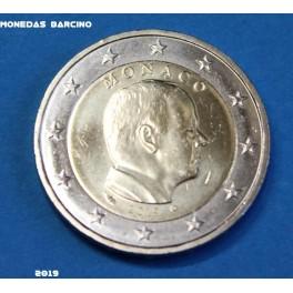 2019 - MONACO - 2 EUROS - ALBERTO II - PRINCIPADO DE MONACO