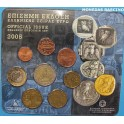 2005 - GRECIA  -  EUROS- EUROCOIN SET -BUHOS 8 MONEDAS