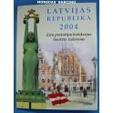 2004 - LETONIA - EUROS PRUEBA - PATTER - LATVIJAS - 8 MONEDAS