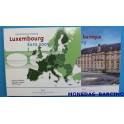 2009 - LUXEMBURGO - EUROS - EUROSET - LUXEMBOURG