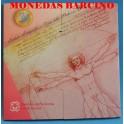 2005 - ITALIA -  EUROS - BLISTER- COIN SET-MONEDAS BARCINO
