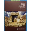 2019 - MALTA - EUROS - TEMPLOS - 9 MONEDAS BLISTER OFICIAL