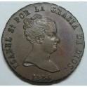 1835 - JUBIA - 8 MARAVEDIS - ISABEL. monedasbarcino.com