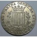 1837 ISABEL II - 1 PESETA - BARCELONA.monedasbarcino.com