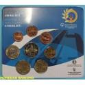 2011 - GRECIA - EUROS - ATENAS - JUEGOS OLIMPICOS - 8 MONEDAS