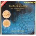 2007 AUSTRIA - EUROS - COLECCION BLISTER -REPUBLIK OSTERREICH 8 MONEDAS