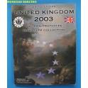 2003 - REINO UNIDO - EUROS PRUEBA -  PROTOTYP - UNITED KINGDOM -BLISTER