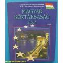 2004 - HUNGRIA - EUROS PRUEBA - PATTER - MAGYAR - 8 MONEDAS