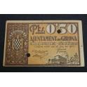 1937  - GIRONA - 50 CENTIMOS - GERONA - BILLETE