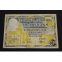 1937 -VILADECANS - 50 CENTIMOS - BARCELONA-  BILLETE PAPEL MONEDA