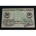1937 - CALDES DE MONTBUI - 50 CENTIMOS - BARCELONA - BILLETE PUEBLO