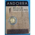 2019 - ANDORRA - 2 EURO - CONSELL DE LA TERRA  - COINCAR