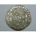 1474  - REYES CATOLICOS - 1 REAL COB - GRANADA - ISABEL  Y  FERNANDO -PLATA