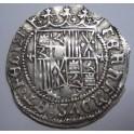 1474  - REYES CATOLICOS - 1 REAL COB - GRANADA- CENTURY - ISABEL Y FERNANDO