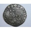 1474  - REYES CATOLICOS - 1 REAL COB - BURGOS- CENTURY - ISABEL Y FERNANDO