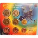 2002 - ESPAÑA - EUROS - BLISTER - COLECCION EUROS