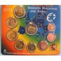 2011 - ESPAÑA - EUROS - COLECCION -  BLISTER OFICIAL - GRANADA