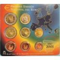 2001 -  ESPAÑA - EUROS -  BLISTER - COLECCION