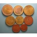 2002 - ESPAÑA-  EUROS  - COLECCION- 8 MONEDAS