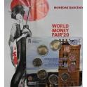 2020 ESPAÑA - EUROS - WORLD MONEY FAIR - MUDEJAR ARAGON